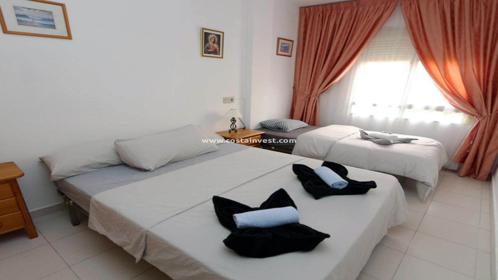 апартамент -                                       Torrevieja -                                       2 спальни -                                       5 человека