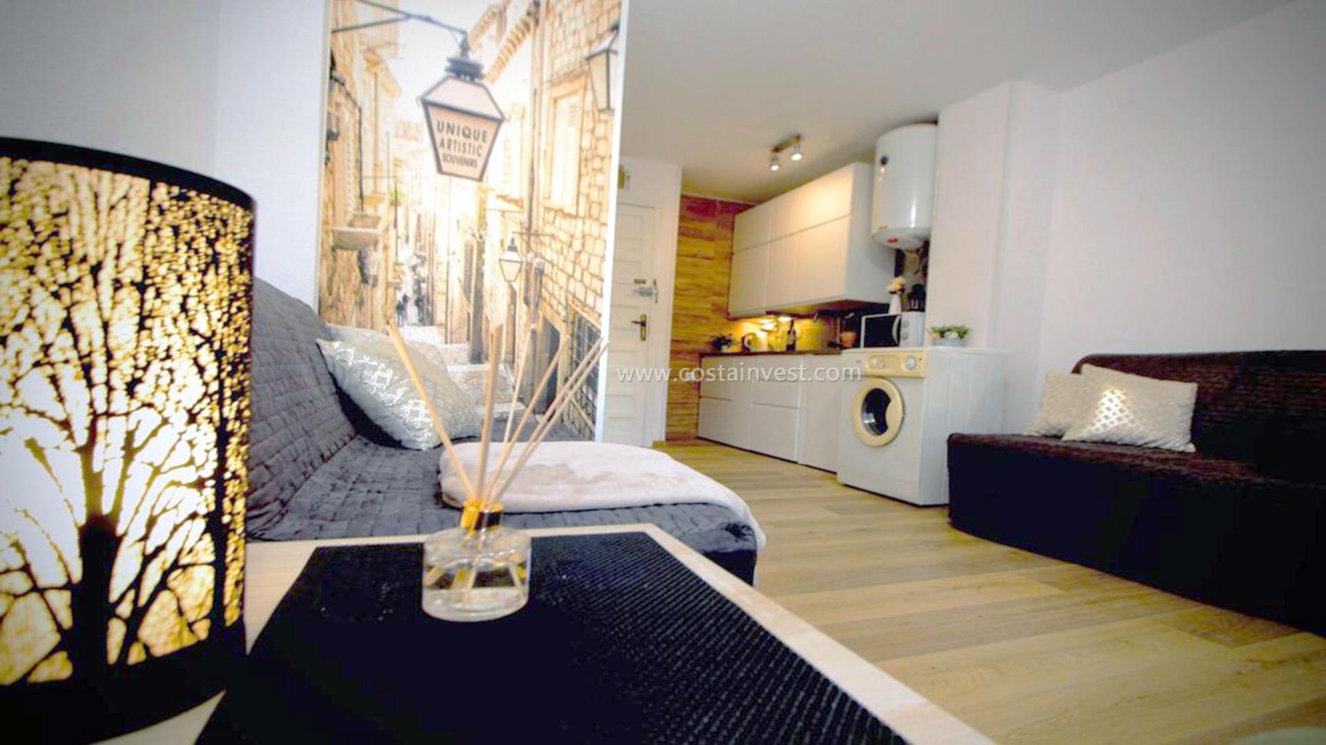 однокомнатная квартира -                                       Torrevieja -                                       0 спальни -                                       4 человека