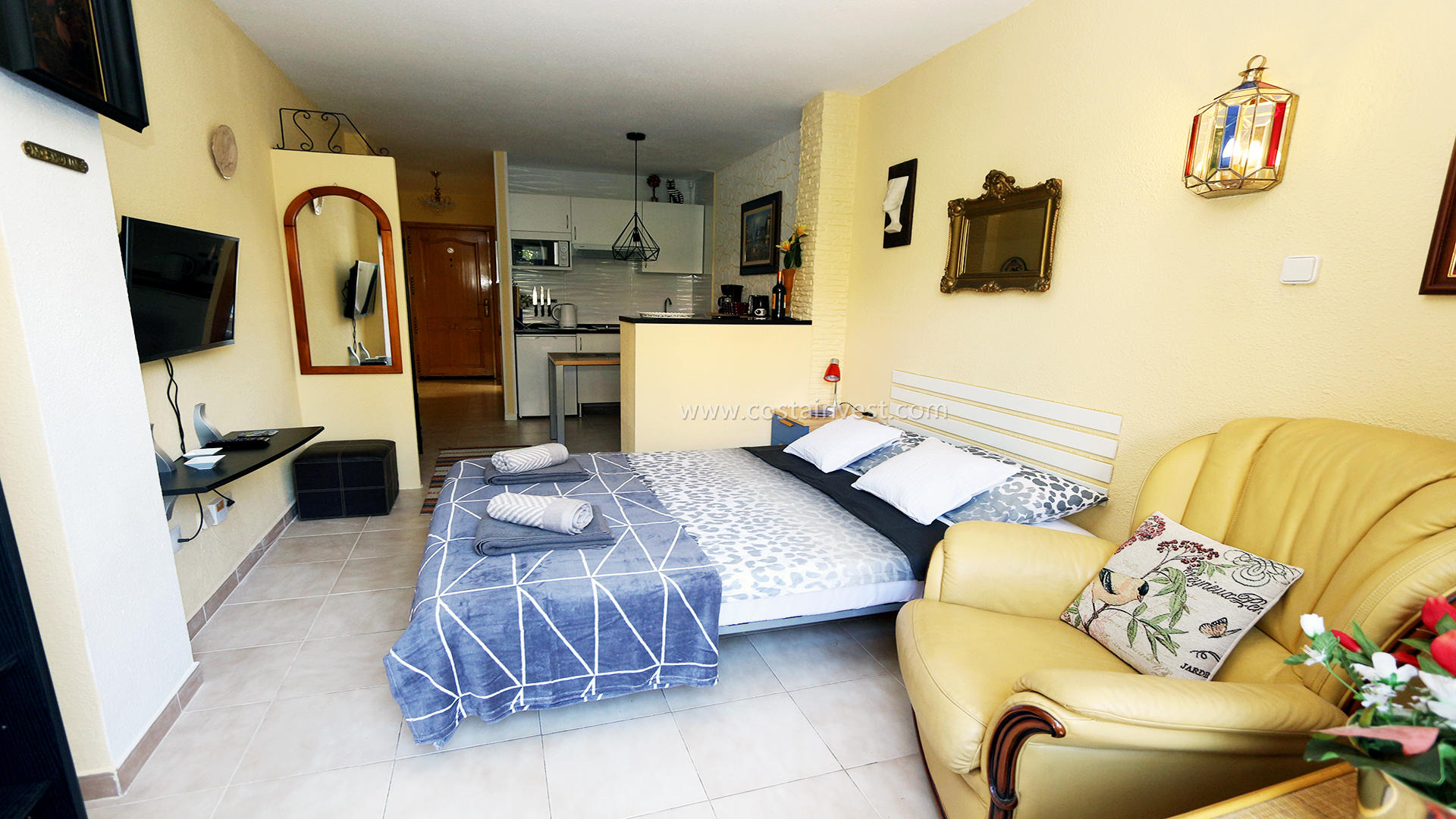 однокомнатная квартира -                                       La Mata -                                       0 спальни -                                       2 человека