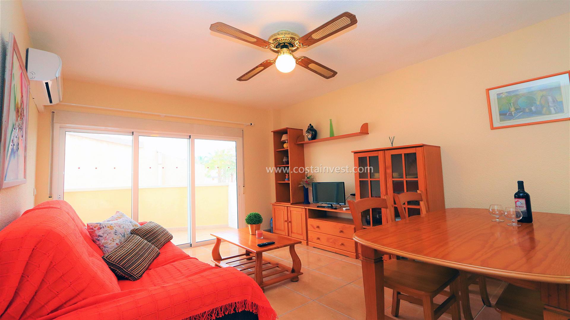 апартамент -                                       Orihuela Costa -                                       1 спальни -                                       2 человека