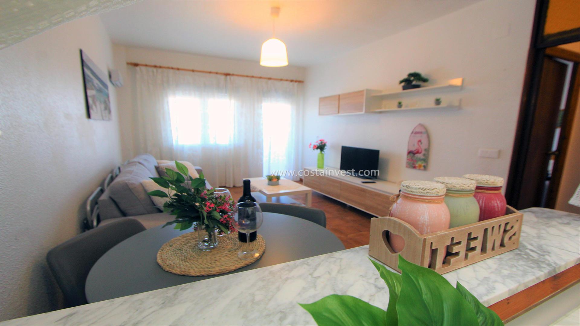 апартамент -                                       Orihuela Costa -                                       1 спальни -                                       6 человека